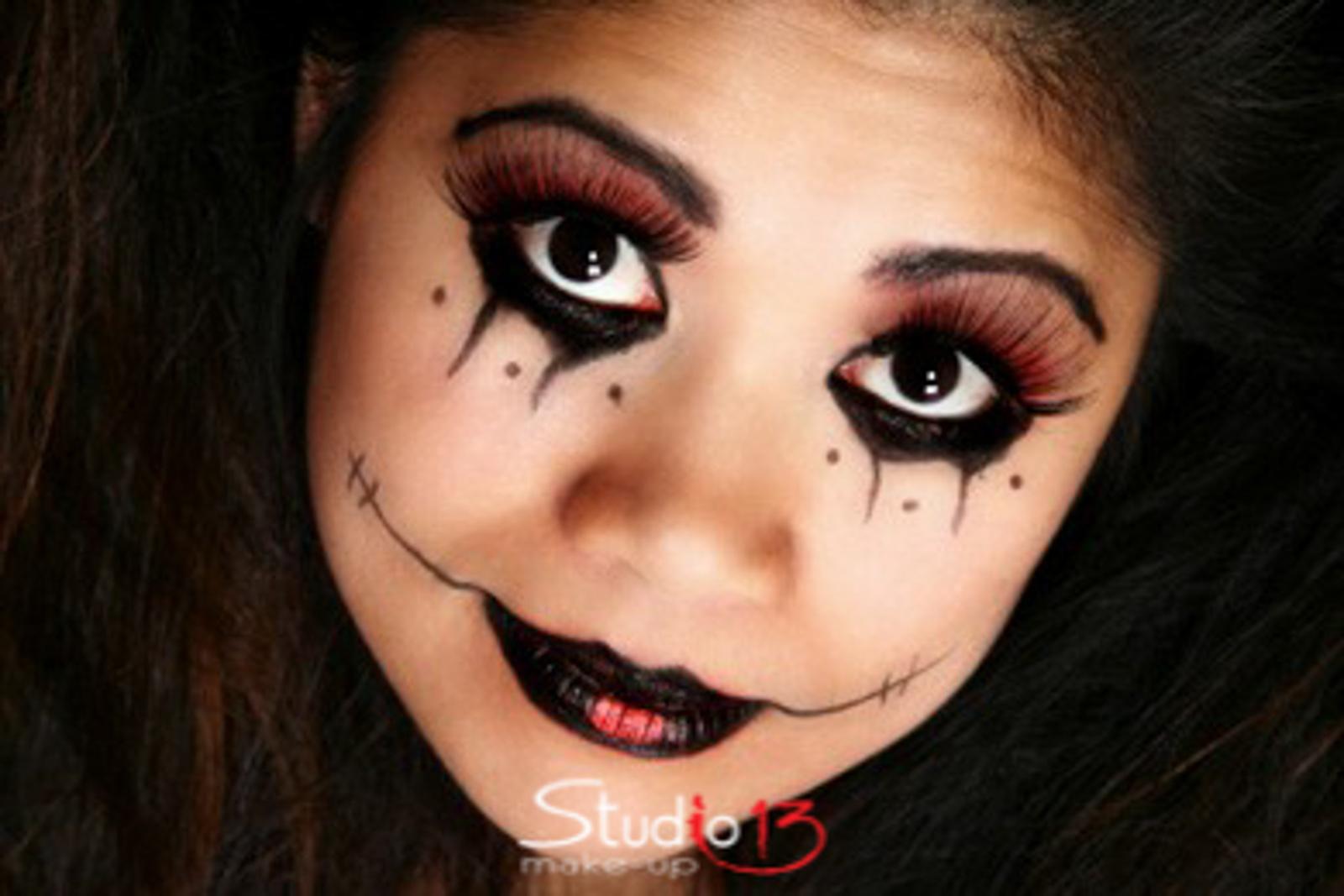 Trucco Halloween Per Bambini Da Strega.Halloween Carnevale Studio13makeup Com